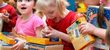 Подарки на Новый Год в садик детям