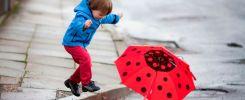 Как выбрать зонтик для дошкольника