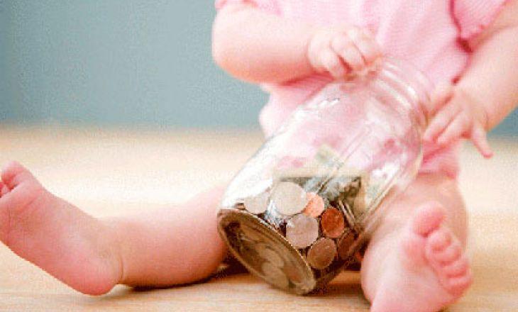 Ребенок проглотил монету