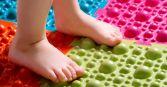 Ортопедический коврик для детей (пазл от плоскостопия)