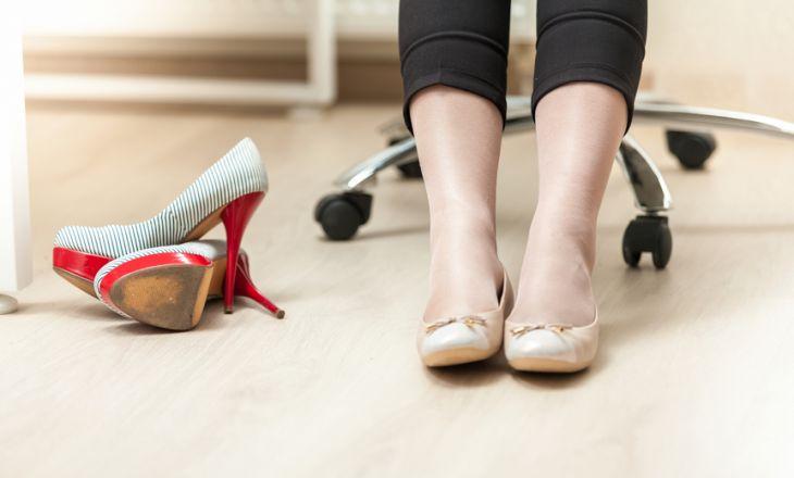Почему беременным нельзя ходить на каблуках?