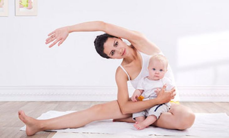 Каким спортом можно заняться после родов
