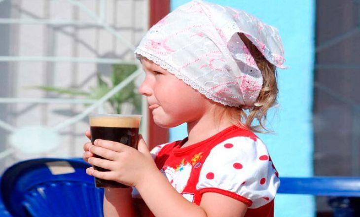 Можно ли детям пить квас?