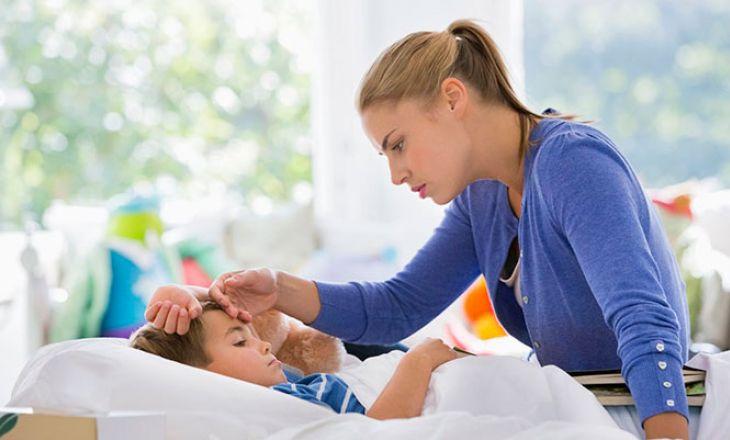 Осложнения гриппа у детей