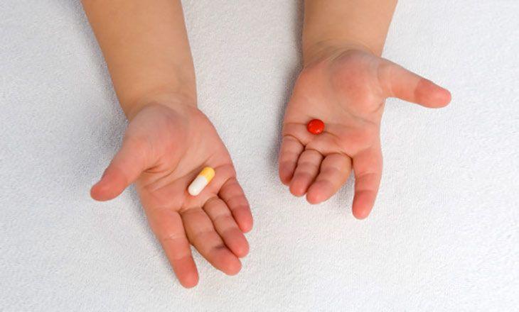Детская простуда и антибиотики